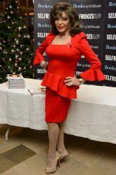 Joan Collins at Selfridges Book in London