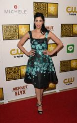 Sarah Silverman wears Lela Rose - 2014 Critics' Choice Television Awards