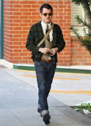 Elijah Wood Heads For A Check Up