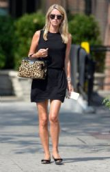 Nicky Hilton is spotted out for a stroll in New York City