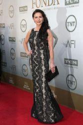 Catherine Zeta-Jones wears Alice + Olivia - 2014 AFI Life Achievement Awards