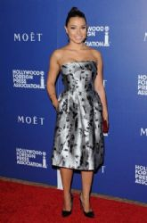 Jessica Parker Kennedy wears Carolina Herrera - Hollywood Foreign Press Association Installation Dinner