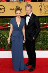 Rebecca Gayheart and Eric Dane: 21st Annual Screen Actors Guild Awards - Arrivals