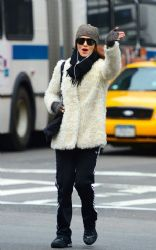 Rachel Weisz: walked home from the gym in New York City