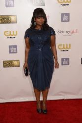 Octavia Spencer: arrives at the 18th Annual Critics' Choice Movie Awards held at Barker Hangar