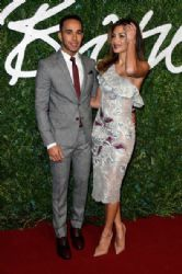 Nicole Scherzinger & Lewis Hamilton - 2014 British Fashion Awards