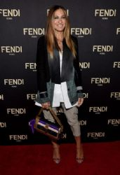Sarah Jessica Parker wears Fendi - Fendi Celebrates The Opening of New York Flagship Store