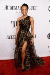 Anika Noni Rose wears Badgley Mischka - 2014 Tony Awards