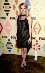 Actress Emma Roberts arrives at the FOX TV All-Star party during the 2015 Summer TCA Tour at Soho House on August 6, 2015 in West Hollywood, California