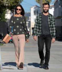 Alessandra Ambrosio and Jamie Mazur in Santa Monica