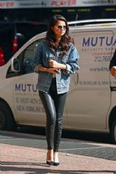Selena Gomez out and about in New York City October 11,2015