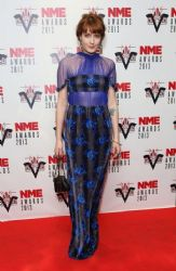 Florence Welch: attended the NME Awards at The Troxy in London