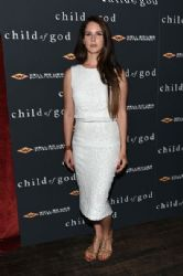Lana Del Rey wears A.L.C. - 'Child Of God' NY Premiere