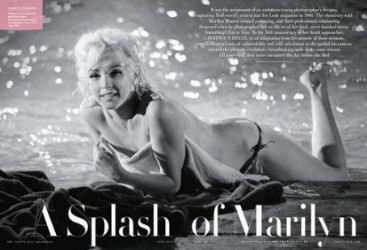 Marilyn Monroe: June 2012 issue of Vanity Fair magazine