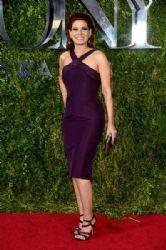 Debra Messing wears Zac Posen - 2015 Tony Awards