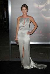 Annabelle Wallis wears Giorgio Armani - 'Annabelle' Hollywood Screening