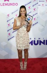 Gaby Espino: Backstage at Telemundo's 'Premios Tu Mundo' Awards 2015