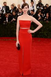 Anne Hathaway: Red Carpet Arrivals at the Met Gala 2014