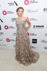 Maggie Grace: Elton John AIDS Foundation Oscars 2015 Viewing Party