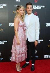 Melissa Benoist and Chris Wood: 45th Annual Saturn Awards - Arrivals