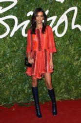 Liya Kebede wears Louis Vuitton - 2014 British Fashion Awards