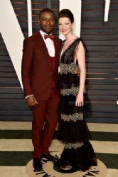 David Oyelowo and Jessica Oyelowo: 2015 Vanity Fair Oscar Party