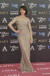 Najwa Nimri: Goya Cinema Awards 2015 - Red Carpet