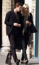 Anja Rubik and Husband Sasha Knezevic Out in Paris