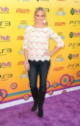 Andrea Bowen arrives at Variety's 5th annual Power Of Youth event presented by The Hub at Paramount Studios on October 22, 2011 in Hollywood