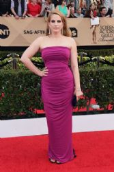 Anna Chlumsky in Elizabeth Kennedy Dress : 23rd Annual Screen Actors Guild Awards