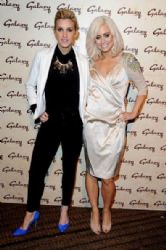 Ashley Roberts and Kimberly Wyatt: Galaxy Drive-In Cinema presents 'Roman Holiday' at Doon Street Carpark