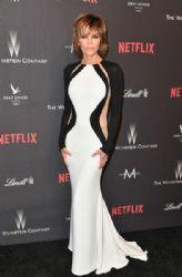 Lisa Rinna: 2017 Weinstein Company and Netflix Golden Globes After Party - Arrivals