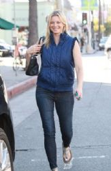 Amy Smart is all smiles while out and about in Studio City