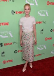 Caitlin FitzGerald wears Houghton - Showtime's 'Masters Of Sex' Special Screening and Panel Discussion