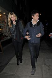 Kate Moss And Jamie Hince Shopping at Alfie's Antique Market