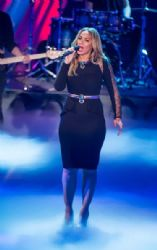 Leona Lewis attends the 'Wetten dass..?' show on January 19, 2013 in Offenburg, Germany