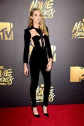 Cara Delevingne: 2016 MTV Movie Awards - Arrivals