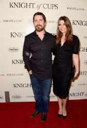 Christian Bale  and Sibi Blazic  : 'Knight of Cups'  Premiere