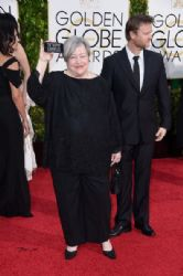 Kathy Bates: 72nd Annual Golden Globe Awards 2015- Arrivals