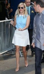 Reese Witherspoon: visit ABC Studios for an appearance on 'Good Morning America' in New York City