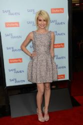 Chelsea Kane: arrives at the premiere of Relativity Media's 'Safe Haven' at TCL Chinese Theatre