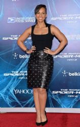 Alicia Keys wears Azzedine Alaia - 'The Amazing Spider-Man 2' New York Premiere