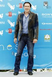 Nicolas Cage at the Giffoni Film Festival in Italy