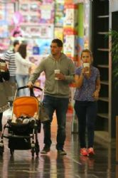 Luisana Lopilato and Michael Bublé: vacation in Brazil