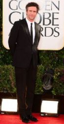 Jack Davenport: arrives at the 70th Annual Golden Globe Awards held at The Beverly Hilton Hotel