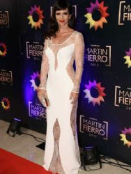 Griselda Siciliani: Martin Fierro Awards 2015