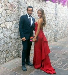 Aaron Diaz and Lola Ponce: Italy visit