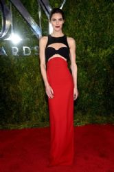 Hilary Rhoda wears Michael Kors - 2015 Tony Awards