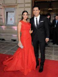 Courtney Mazza and Mario Lopez: 2014 NCLR ALMA Awards - Red Carpet