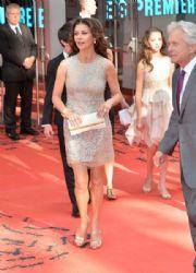 Catherine Zeta-Jones wears Kaufmanfranco - 'Ant-Man' London Premiere